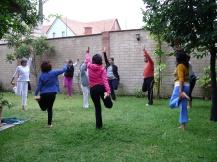 practicando Chi Kung