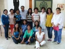 Grupo de alumnos que participaron en el tema