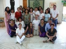 alumnos, Instructor y Dir. del CICSH, Dra. Luci Cordero