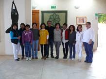 las alumnas, el Instructor y la Dir. del CICSH
