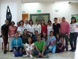 Los alumnos de este nuevo Ciclo de la Especialidad y la Instructora del tema.