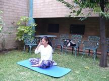 Hatha Yoga.