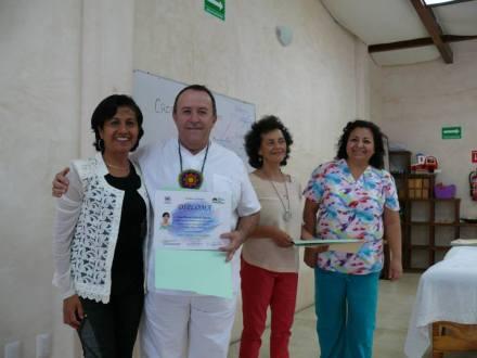 Alumna Cruz Galindo.