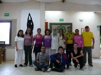 El grupo que participó en el Curso