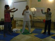 Disciplina psicofisica y Hatha Yoga.