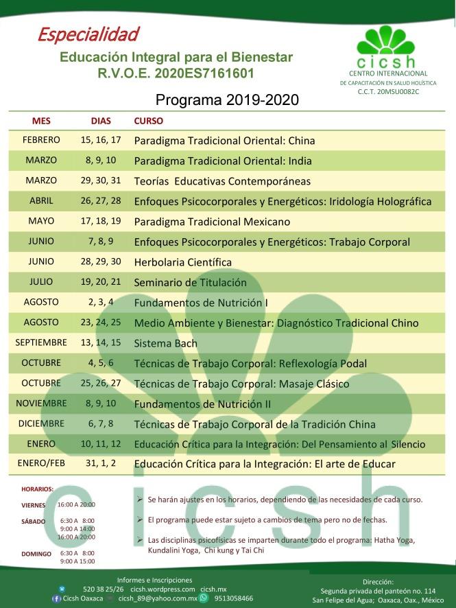 programa cicsh 2019-2020 07122018