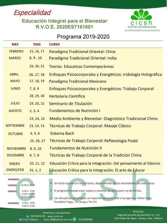 programa cicsh 2019 diseño nuevo act 1305